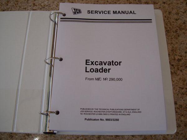 JCB Backhoe Loader Service Manual 1400B 1550B 1700B